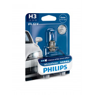 PHILIPS H3 WhiteVision 12V 55W PK22s PH-12336WHVB1 PH-12336WHVB1