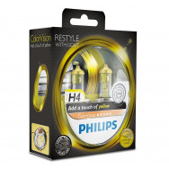 PH-12342CVPYS2 PHILIPS H4 12V 60/55W P43t-38 ColorVision Yellow 8727900367898