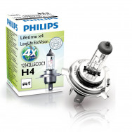 12342LLECOC1-dip-global-001 PH-12342LLECOC1 PHILIPS H4 12V 60/55W P43t-38 LongLife EcoVision 8727900361896