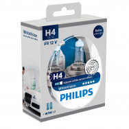 PHILIPS H4 WhiteVision 12V 60/55W P43t-38 PH-12342WHVSM 8711500788863