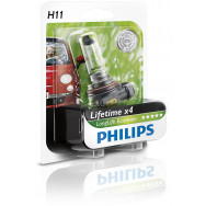 PH-12362LLECOB1 PHILIPS H11 12V 55W PGJ19-2 LongLife EcoVision 8727900363104