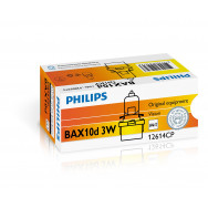 PH-12614CP PHILIPS BAX 12V 3W B10D brown halogen 8711559528052
