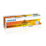 PH-12624CP PHILIPS BAX 12V 1.1W BX8,4D orange 8711559514116