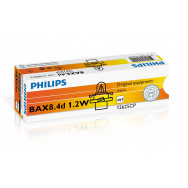 PH-12625CP PHILIPS BAX 12V 1.2W BX8,4D black 8711559514093