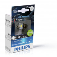 PH-129404000KX1 PHILIPS C5W 12V 1W SV8,5 Festoon X-tremeVision LED T14x30 4 000 K 8727900387247