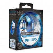 PH-12972CVPBS2 PHILIPS H7 12V 55W PX26d ColorVision Blue 8727900368109