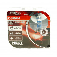 OSRAM H11 NIGHT BREAKER LASER +150%