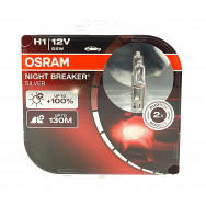 OSRAM H1 NIGHT BREAKER SILVER +100%