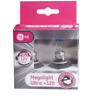 GENERAL ELECTRIC HB3 12V 60W P20d MEGALIGHT ULTRA +120% Halogenowe żarówki HB3 +120% GH-53810NU 43168987325 HB3 GH-53810NU GENERAL ELECTRIC HB3 12V 60W P20d MEGALIGHT ULTRA +120% 43168987325