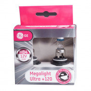GENERAL ELECTRIC HB4 12V 51W P22d MEGALIGHT ULTRA +120% Żarówki halogenowe HB4 Megalight Ultra +120% GH-53070SNU HB4 43168987332