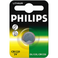 PH-CR1220/00B PHILIPS CR1220 - 3.0V coin 1-blister (12.5 x 2.0) - Lithium   Minicells 8711500812988