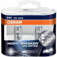 4052899016743 osram NIGHT BREAKER UNLIMITED 64150NBU osram H1 12V 55W P14,5s NIGHT BREAKER® UNLIMITED (Żarówka) osram automotive bulbs