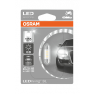 OSRAM C5W 36MM COOL WHITE 6000K LEDRIVING SL 12V 0,5W SV8.5-8