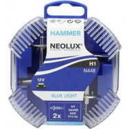 NEO-N448B-DUO Neolux H1 12V 55W P14,5s HAMMER Blue Light 4008321760395