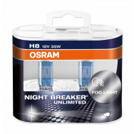 O-64212NBU-HCB H8 12V 35W PGJ19-1 Night Breaker Unlimited /2-szt. 4052899290181
