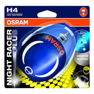 H4 12V 60/55W P43t NIGHT RACER PLUS /blister-1szt.