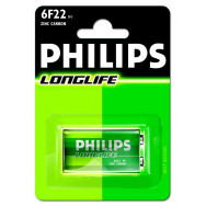PHILIPS 6F22/ 9V LONGLIFE F1