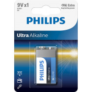 PHILIPS 6LR61/ 9V Ultra Alkaline B1