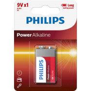 PHILIPS 6LR61/ 9V Power Alkaline B1   Power Alkaline