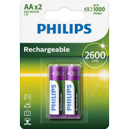 PHILIPS 24/ AA MULTILIFE 2600 mAh B2   Rechargeable