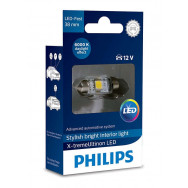 PHILIPS Festoon 12V 1W SV8,5 10.5x38 2LED 12859 6000K 1W X1 PHILIPS 12859I60X1 8727900398007