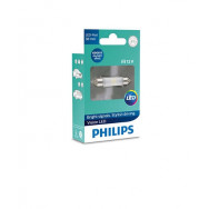 PHILIPS Festoon 12V 1W SV8,5 38mm LED 12801 6000K X1 PHILIPS 128016000KX1 8727900395853