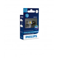 PHILIPS Festoon 12V 1W SV8,5 X-tremeVision LED T10,5x38 4000K PHILIPS 128584000KX1 8727900397062