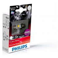 PHILIPS Festoon 24V 1W SV8,5 X-tremeVision LED T10,5x38 6000K PHILIPS 249446000KX1 8727900397185