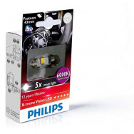 PHILIPS Festoon 24V 1W SV8,5 X-tremeVision LED T10,5x43 6000K PHILIPS 249466000KX1 8727900397208