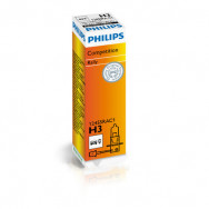 PH-12455RAC1 PHILIPS H3 12V 100W PK22s Rally for off-road only 8711500478986