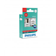 PHILIPS P215W 12V24V 1,9W0,3W BAY15d LED RED 12836 X2 PHILIPS 12836REDX2 8727900395792