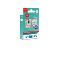 PHILIPS P21W 12V24V 1,9W BA15s LED RED 12839 X2 PHILIPS 12839REDX2 8727900395815