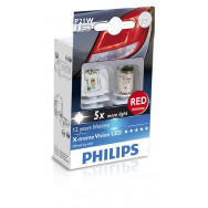 PHILIPS P21W 12V 24V 1,9W BA15s LED 12898 R X2 PHILIPS 12898RX2 8727900397246