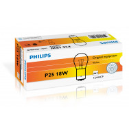 PH-12445CP PHILIPS P25W 12V 18W BA15s 8711500484406
