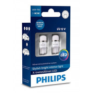 PHILIPS T10 LED 12V 0,9W W2,1x9,5d 12799 6000K X2 PHILIPS 12799I60X2 8727900397925