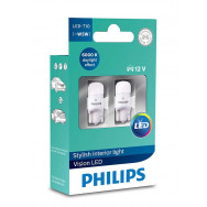 PHILIPS T10 LED 12V 0,9W W2,1x9,5d LP 12791 6000K X2 PHILIPS 12791I60X2 8727900397963