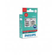 PHILIPS W21W 12V24V 1,9W W3x16q LED 12838 RED X2 PHILIPS 12838REDX2 8718696270189