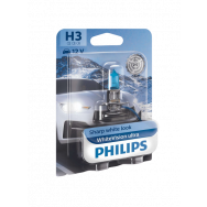 PHILIPS H3 WHITEVISION ULTRA 12V 55W PK22S