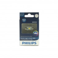 PHILIPS C5W 12V 1W SV8,5 T10,5X38 FESTOON X-TREMEVISION LED 6000K