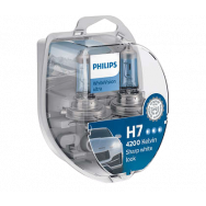 PHILIPS H7 +W5W WHITEVISION ULTRA 12V 55W PX26D