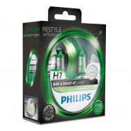 PHILIPS H7 12V ColorVision Green, zielone