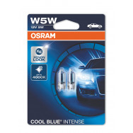 4008321650870 2825hcb-cool-blue osram W5W 12V 5W W2,1x9,5d COOL BLUE® Intense (Żarówka) osram automotive best cool blue intese 2825 product ever made  zwycięzca testu
