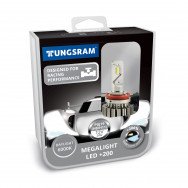 TUNGSRAM H8 / H11 12V Megalight LED +200% 6000K