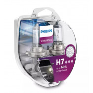 PHILIPS H7 VISIONPLUS +60% 12V 55W PX26D