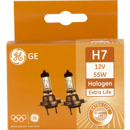 GENERAL ELECTRIC H7 12V 55W PX26D EXTRA LIFE