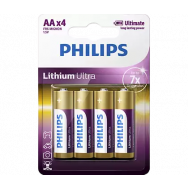 PHILIPS BATERIE R6 / AA LITHIUM ULTRA B4 LITHIUM ULTRA