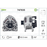 Alternator valeo 747035