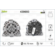 Valeo alternator nowy 439693
