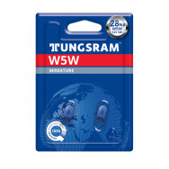 TUNGSRAM W5W 12V Original 3800K - NB (BLUE)