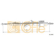 LINKA SPRZ COFLE 10.2443 FORD TRANSIT 1.6-2.0 86-7/94